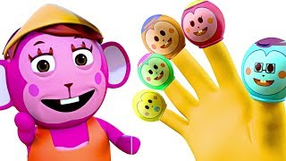 Finger Family Song for Kids + More Rhymes | Kids Songs by Nursery Rhymes Street