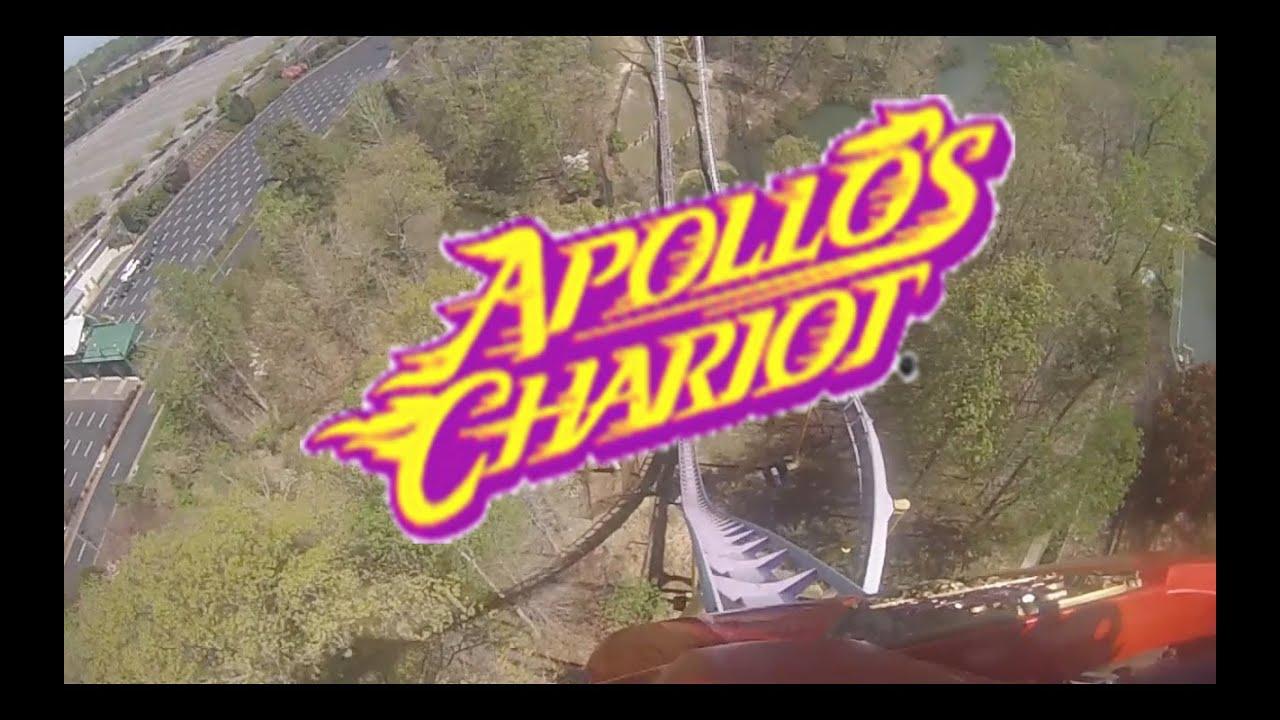 Apollos Chariot At Busch Gardens Williamsburg Youtube