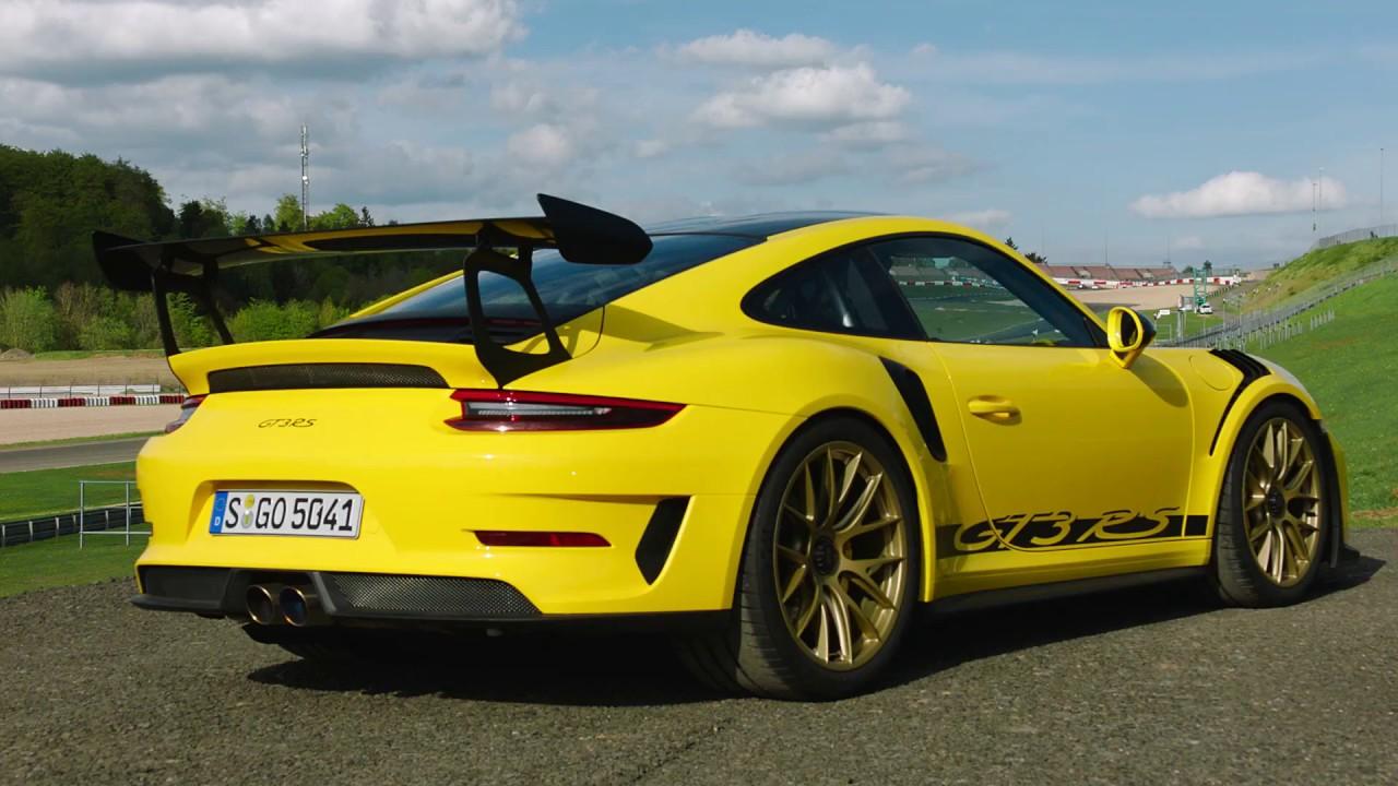 2019 Porsche 911 GT3 RS Weissach Package (Racing Yellow