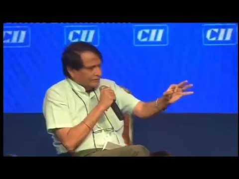 Shri Suresh Prabhu addressing CII Annual Session 2017