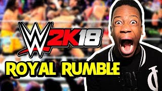 WWE 2K18 FULL 30-Man Royal Rumble! (1080p 60 FPS w/FaceCam)