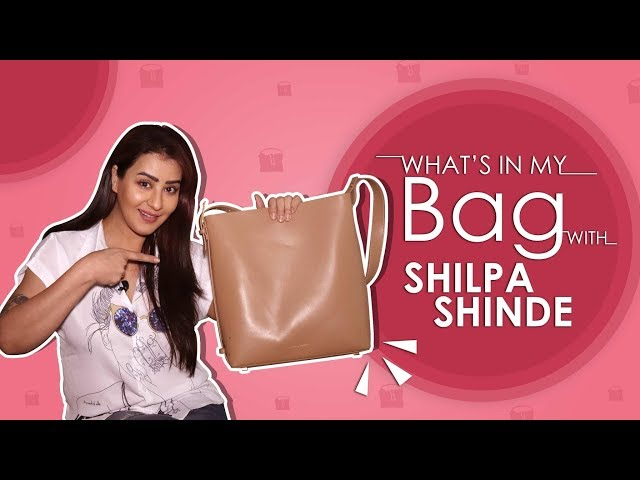 What's In My Bag With Shilpa Shinde   Bag Secrets Revealed   Exclusive