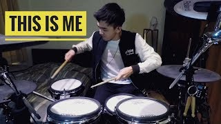 Download 【This is me】-The Greatest showman-Drum cover Mp3 and Videos