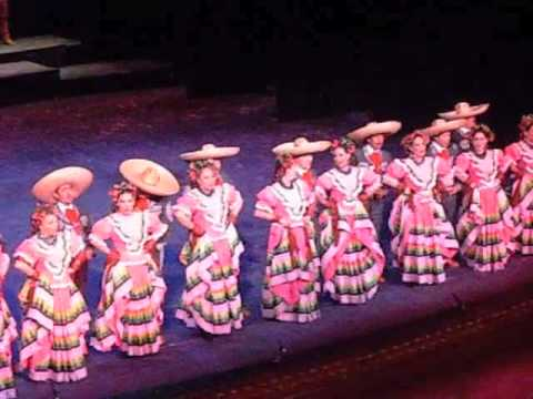 Mexican folk dance spectacle