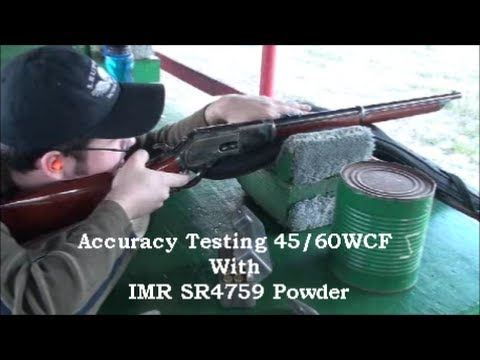 1876 Winchester 45/60WCF Testing Hand-loads