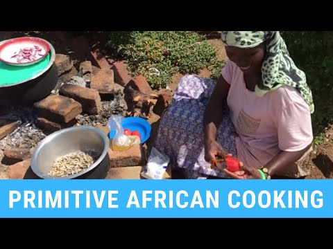 Primitive Cooking in Africa