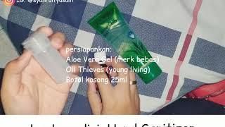 Cara membuat hand sanitizer dengan young living menggunakan aloe vera gel