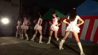 2013/08/24 京街道ゆめまつり ESSEアカデミー HAPPY LIVE.