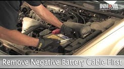 How to change Vehicle Battery - 1997 Toyota Camry
