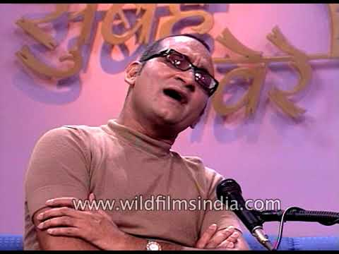 Abhijeet Bhattacharya, Indian playback singer sings his favourite songs