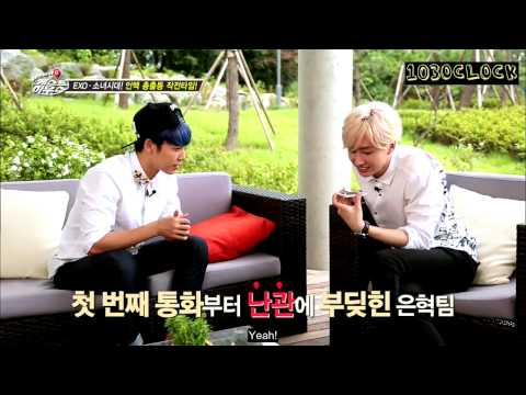 [ENGSUB] 141027 Super Junior M's Guesthouse