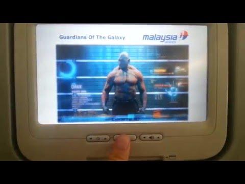 Ad spam on MAS flight