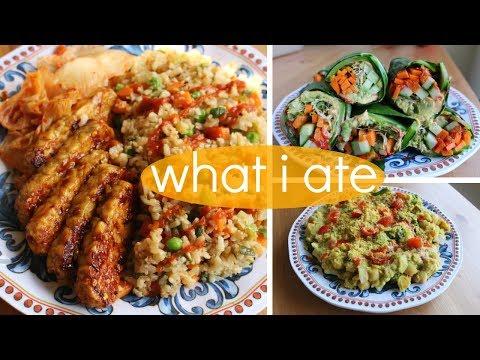 What I Ate // Extra-Healthy Vegan Recipes