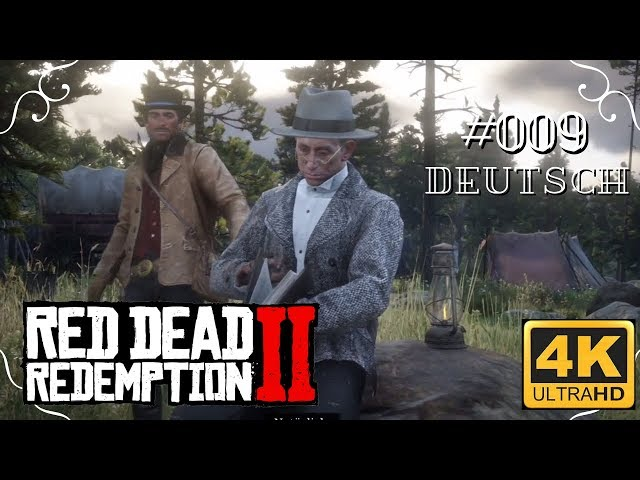 Red Dead Redemption II - #009 - Mr. Strauss [Deutsch, ohne Werbung, 4k, UHD, PS4Pro]