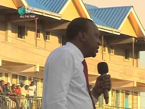 """""""Kenya Will Not Be Cowed By Acts Of Terror"""", Uhuru Asserts"""