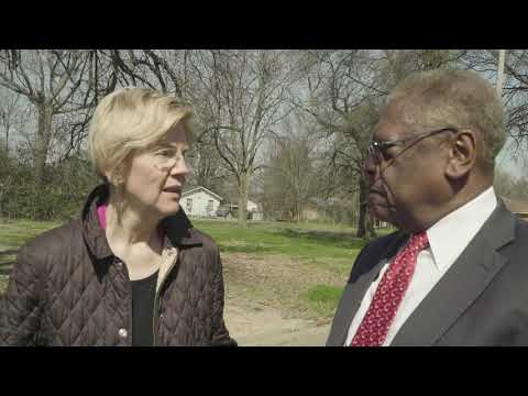 Elizabeth Warren Talks About Housing In Cleveland, Mississippi