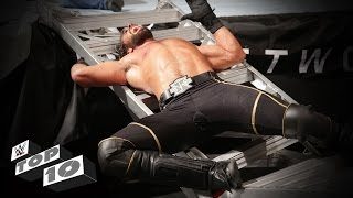 Superstars smashed through ladders: WWE Top 10