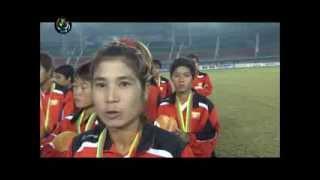 dvb voices of myanmar women football team