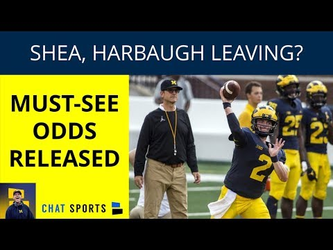 Jim Harbaugh and Shea Patterson: Will They Be With Michigan Football In 2019? New Odds Released