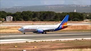 [HD] Boeing B737-36N/W Jet2 G-GDFL arrives Palma de Mallorca Airport (PMI-LEPA)