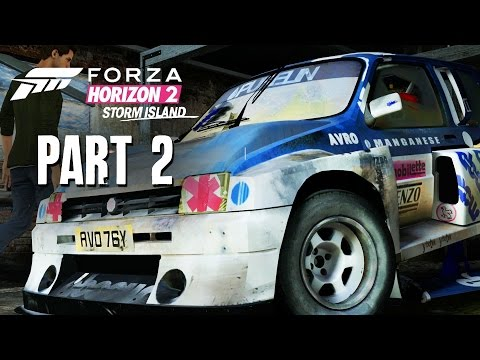 Forza Horizon 2 Storm Island Gameplay Walkthrough Part 2