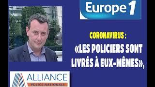 Coronavirus : «Les policiers sont livrés à eux-mêmes»