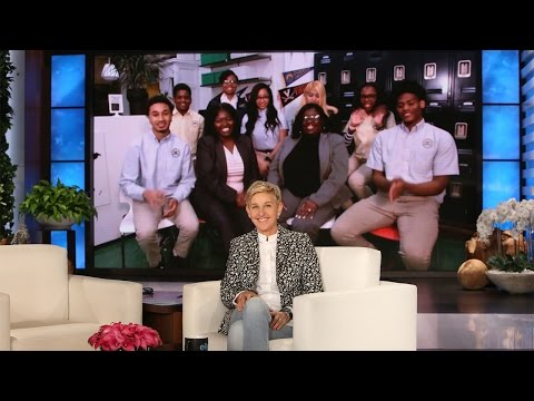 Ellen Checks in with Brooklyn's Summit Academy
