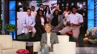 Ellen Checks in with Brooklyn's Summit Academy