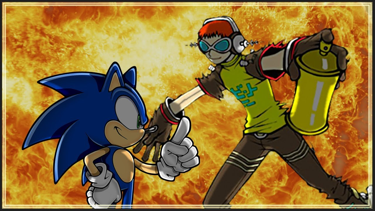 Sonic VS Jet Set Radio Mixtape 100 Sub Special 3 YouTube