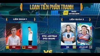 Trực tiếp AOE   Chim Sẻ Đi Nắng, KĐK vs BIBI, Lôi Lão Hổ   2v2 Assy, SHang