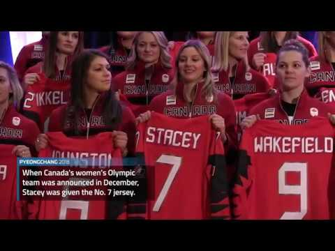 For Canada's Laura Stacey, No. 7 carries family hockey history