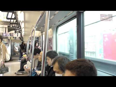 JR EAST Joban Line from Kita Senju to Tokyo Station