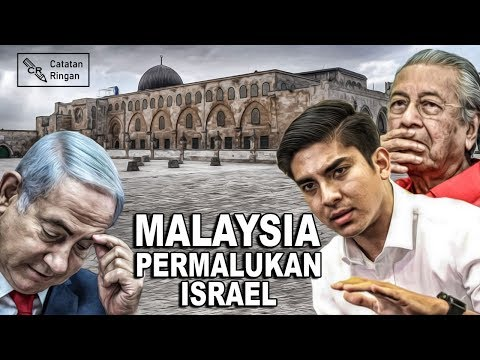 Beraninya Malaysia Permalukan Israel