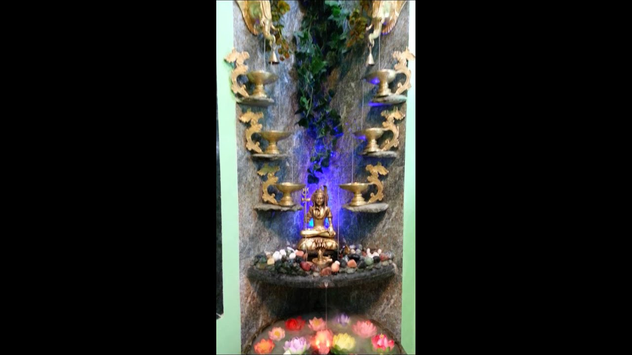 Lord Shiva Water Fountain Youtube