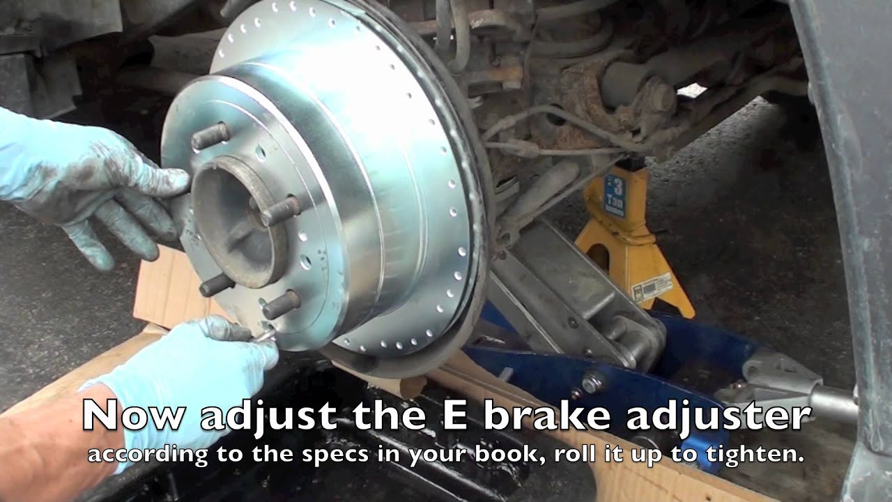 Land Cruiser Tutorials Rear Brake Service Lx470 And Land