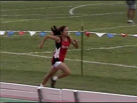 Stefani Namba Triple Jump at Mt. Sac Relays 2000