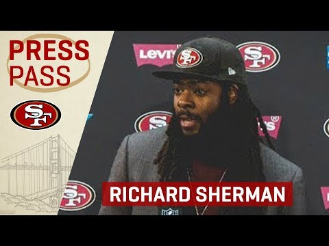 Richard Sherman Praises Young Players Stepping Up In Win Over Seahawks | San Francisco 49ers