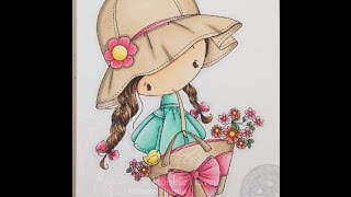 Little Flower Girl - Color Wednesday 19