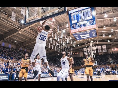 Top Plays: Duke 116, Bowie State 53 (11/4/17)