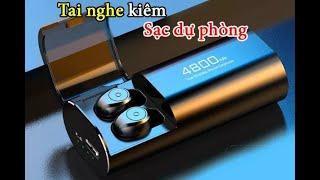 Tai Nghe Bluetooth 5.0 TWS S11 - Chống Nước IPX5 - Pin 4800.