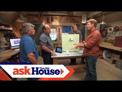 240 To 24 Volt Transformer Wiring Diagram Vdo Tach How Install A Wireless Thermostat Youtube