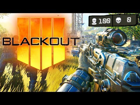 BLACKOUT BETA EXTENDED: 100 PLAYER COUNT! - BLACK OPS 4 BLACKOUT LIVE (Call of Duty Battle Royale)