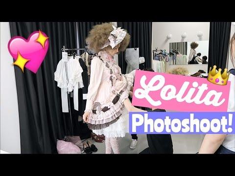 Shooting a Lolita Magazine in Tokyo!