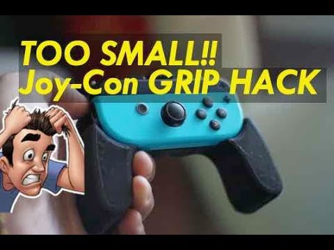 Nintendo Switch Joy-con Controller Grip Unboxing Review MoKo