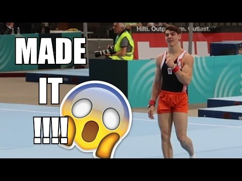 I'M IN THE FINAL!!!!! | Gymnastics World Cup Koper, Slovenia