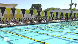2019 47th Annual Foothill Swim Games - 50 Free Girls Final