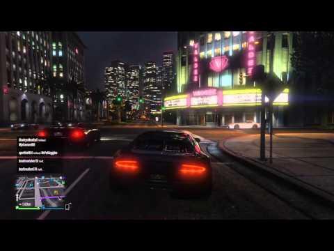 Grand Theft Auto V normal sevillian// in the car wash
