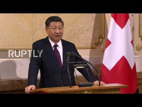 Switzerland: Xi Jinping in Bern for bilateral talks and Davos WEF