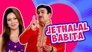 Jethalal flirting with Babita | Romantic and Funny Moments | Taarak Mehta Ka Ooltah Chashma