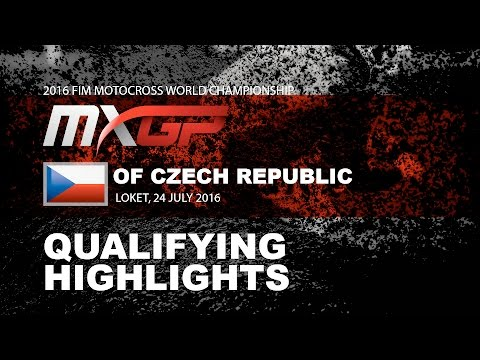 MXGP Qualifying Race Highlights MXGP of Czech Republic 2016